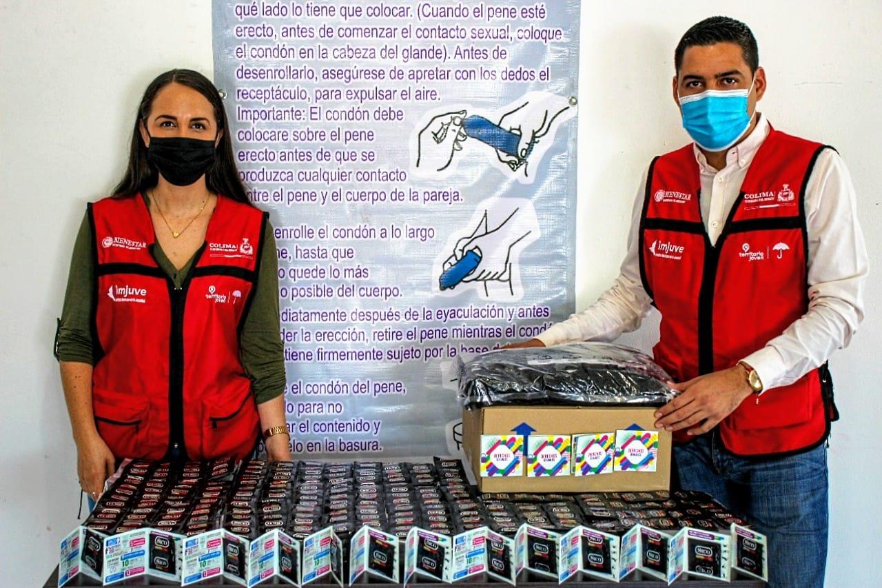Recibe Sejuv donación del Instituto Mexicano de la Juventud