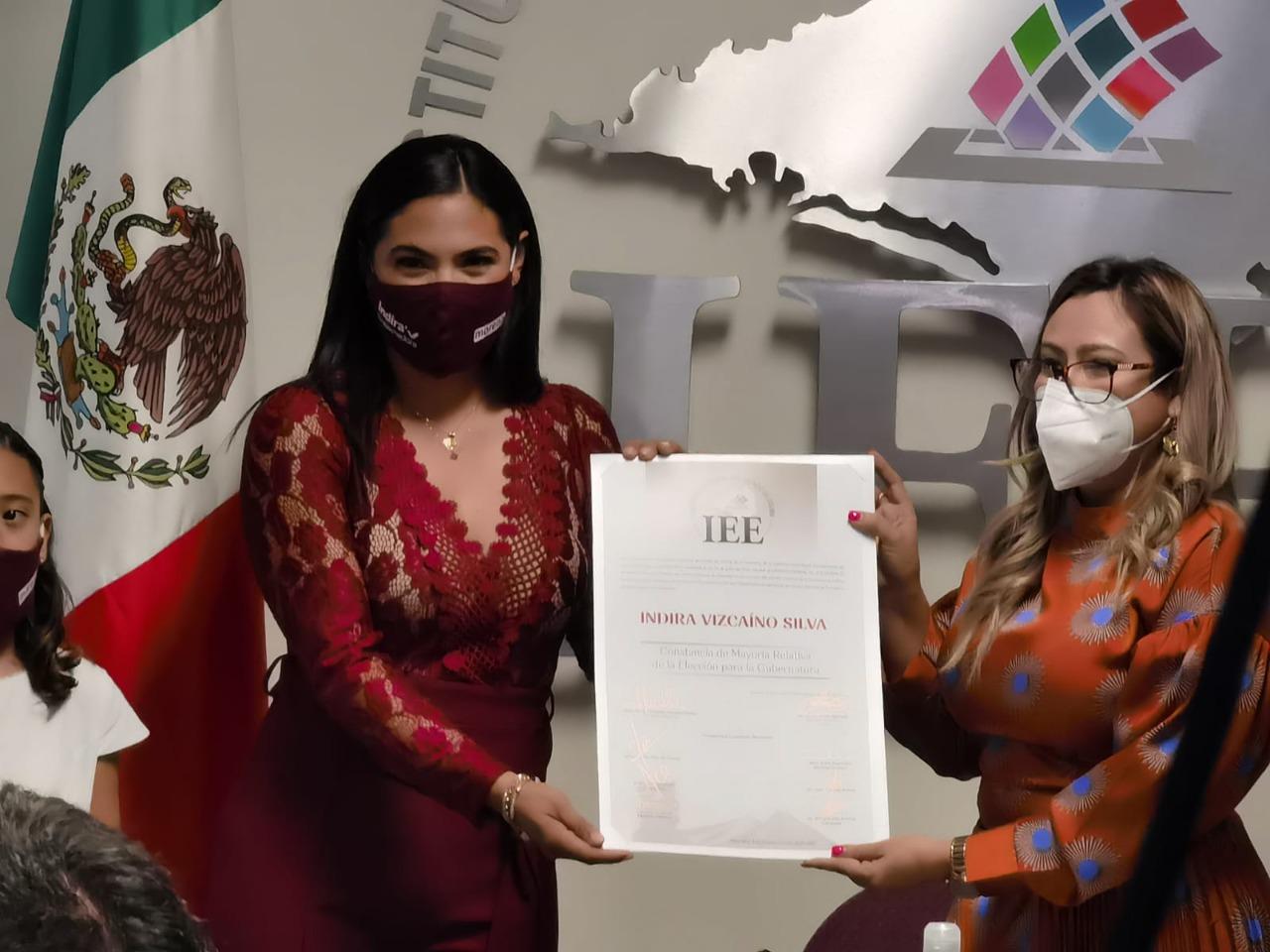 Hoy comienza una nueva etapa en el estado de Colima: Indira Vizcaíno