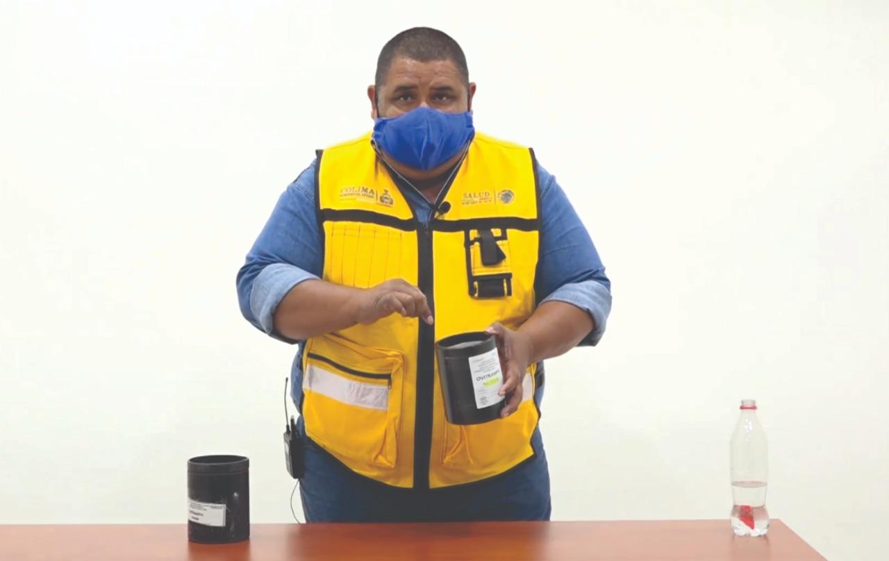 Ovitrampas contribuyen al control del dengue