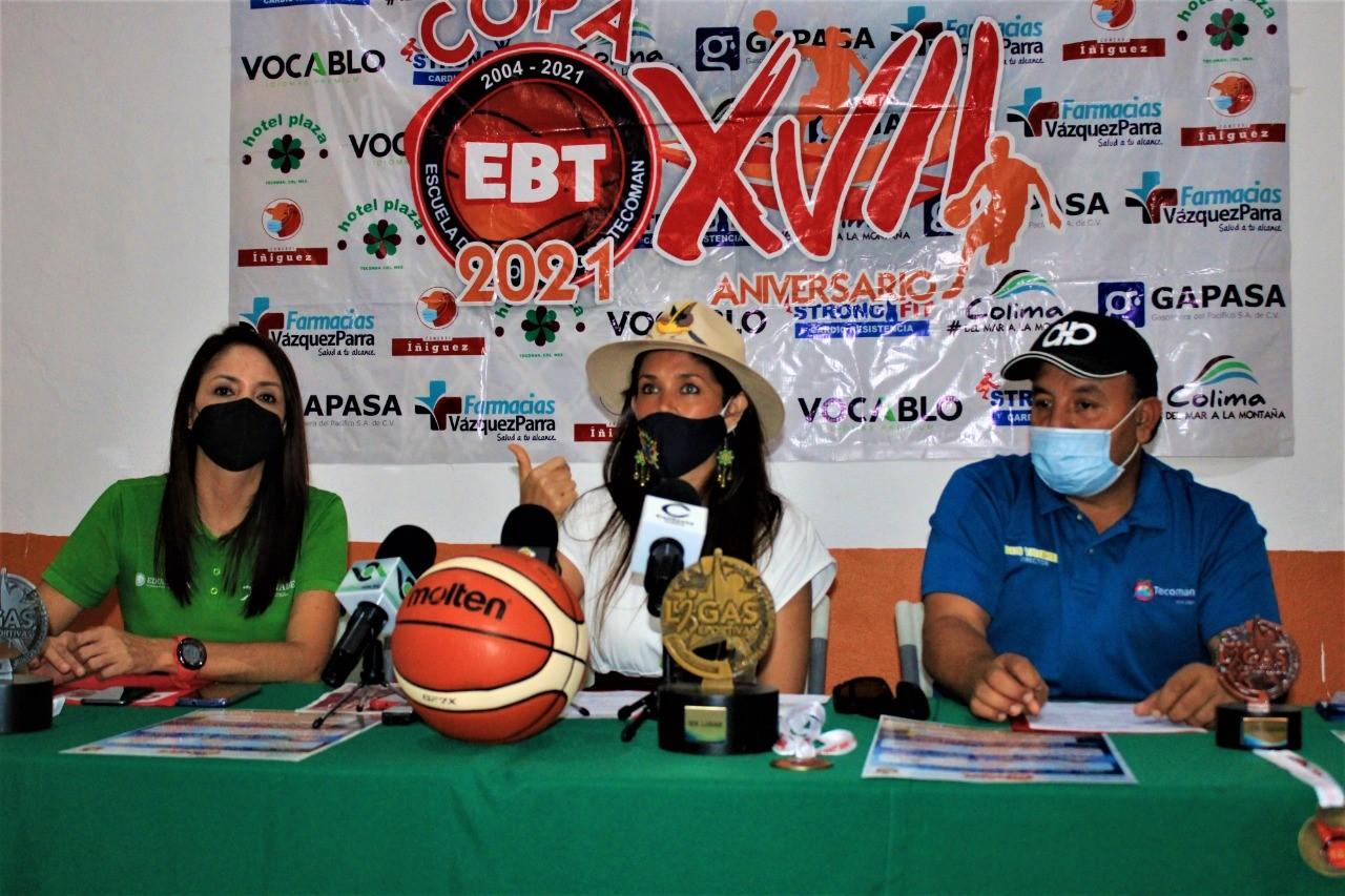 Anuncian Torneo Nacional Copa Escuela de Baloncesto de Tecomán