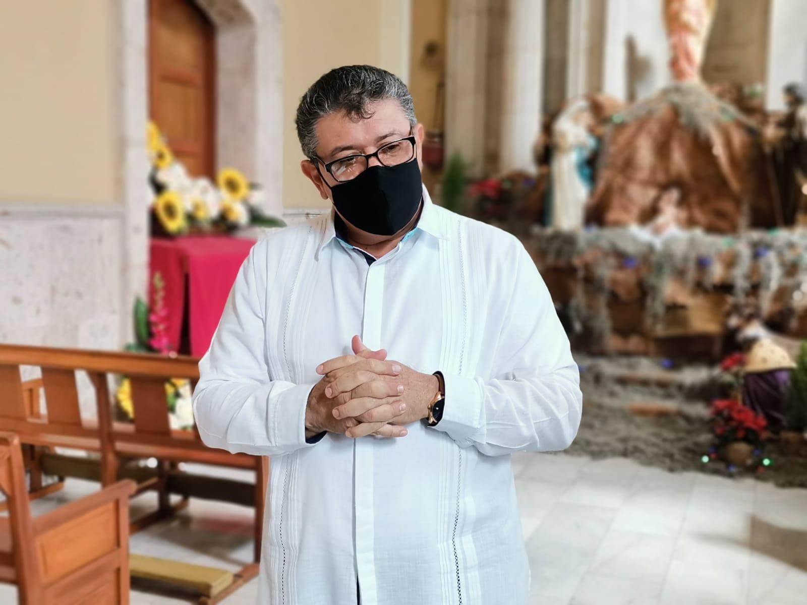Mantendrá Iglesia Católica protocolos sanitarios a pesar del semáforo verde: Vicario General