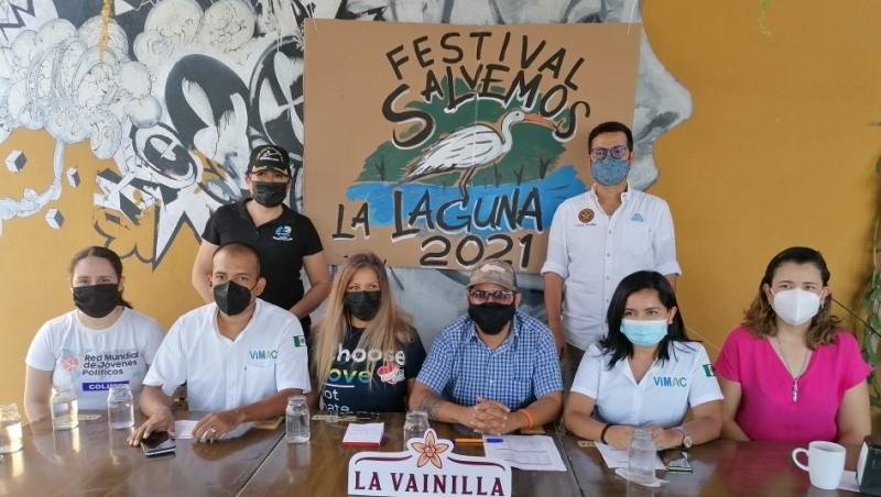 Presentan cartelera del Festival Ambientalista Salvemos la Laguna