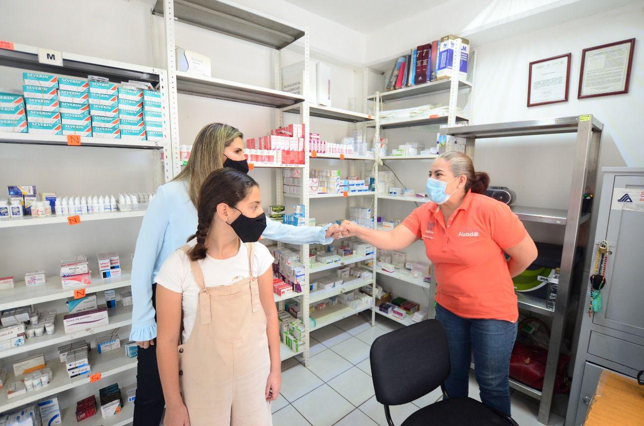 Recorre Margarita Moreno las instalaciones del DIF Municipal Colima