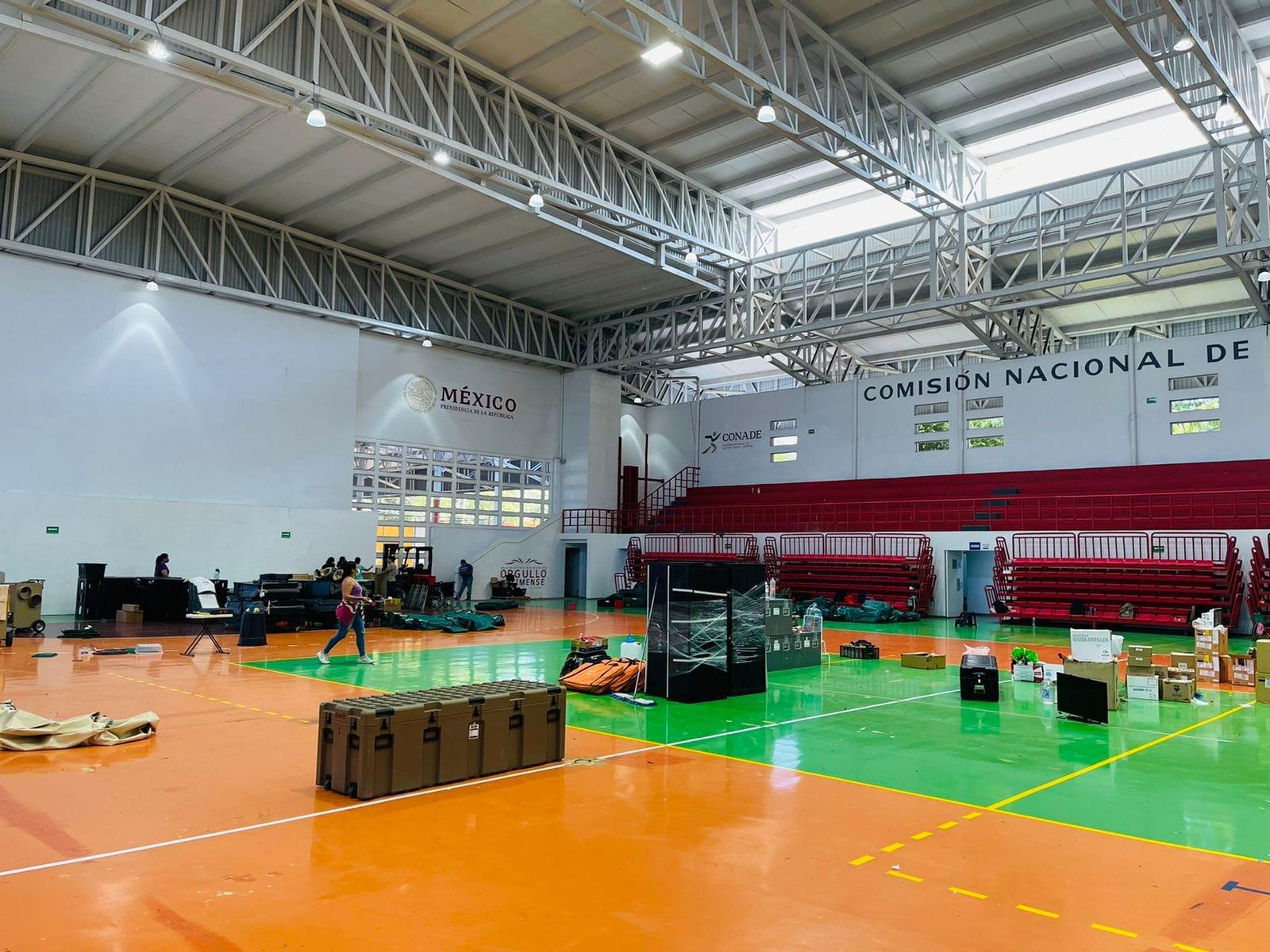 Concluye labores el Hospital Móvil Covid-19 en Colima