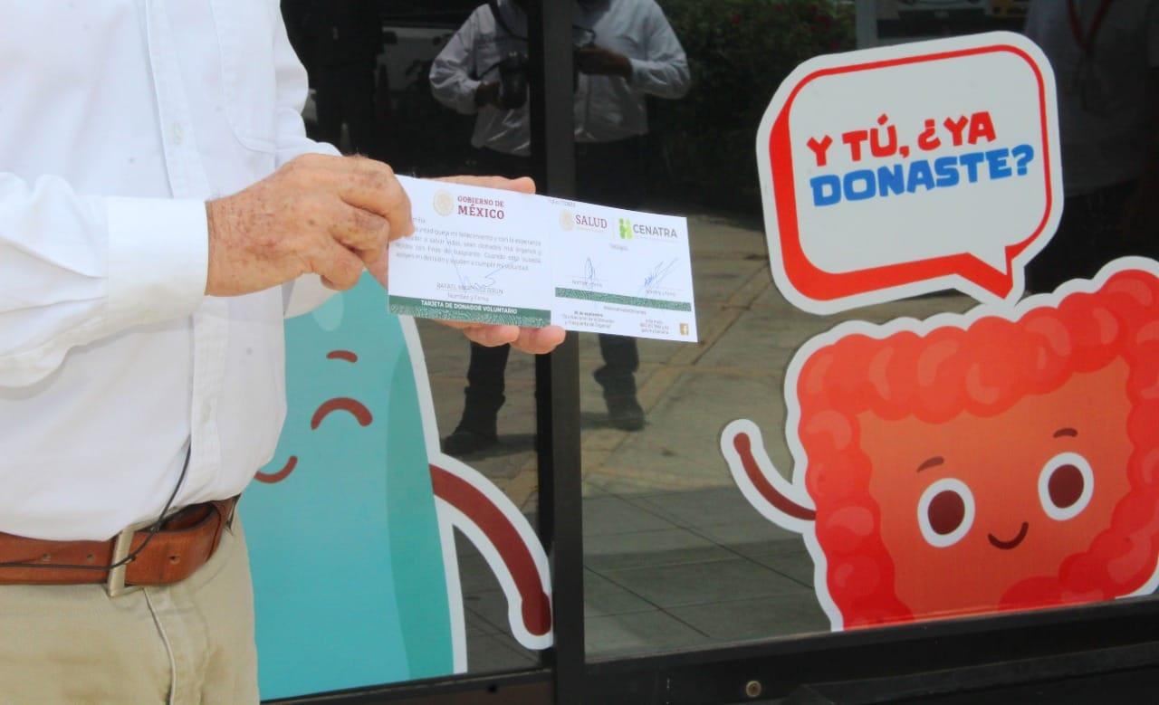 Impulsan en Colima la donación voluntaria de órganos y tejidos