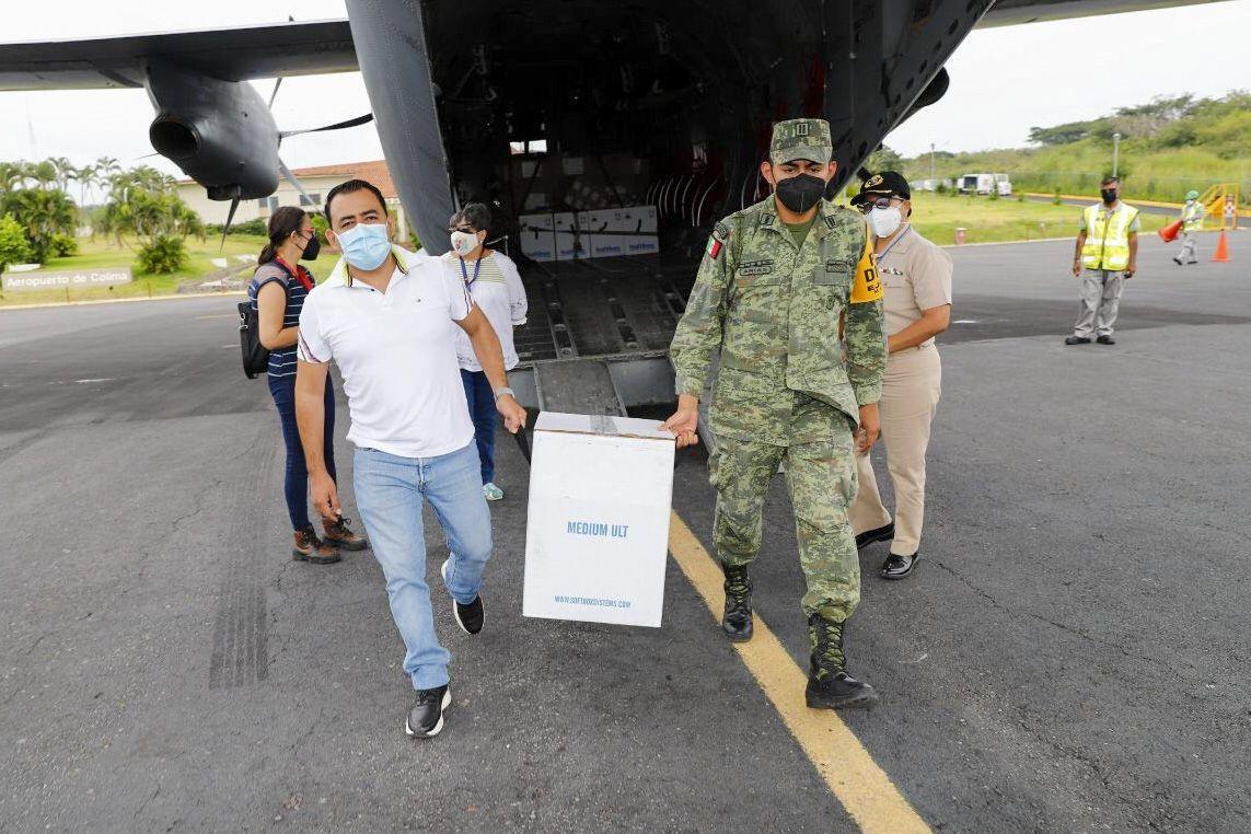 Llegan a Colima vacunas Pfizer para menores con comorbilidades
