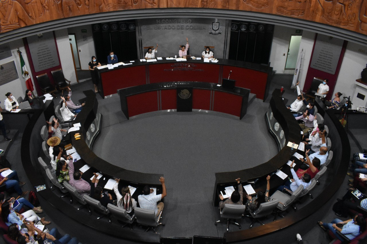 Congreso Colima aprueba abrogar convocatoria para elecciones extraordinarias y entrada en funciones del Concejo Municipal de Tecomán