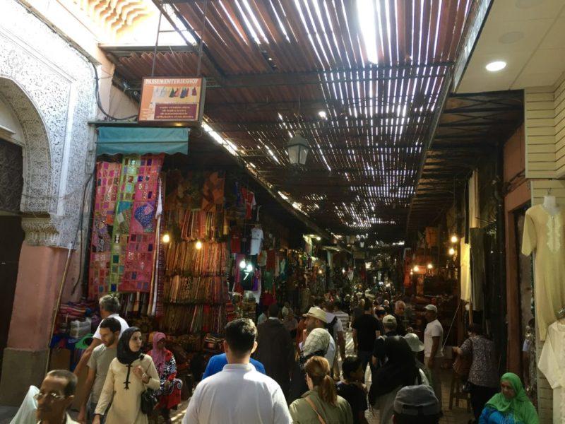 Marrakech - souk - excursie - HB health