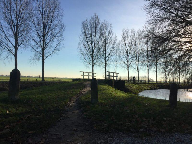 Oudewater wandeltrip - Floris-V pad - Linschoten