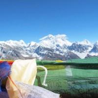Trek vers Gokyo : passage du Renjo La