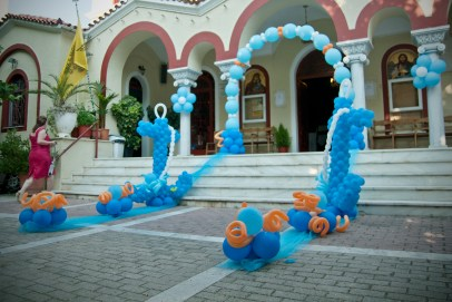 Μπαλόνια θαλασσινό θέμα