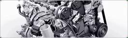 Section de pièces de rechange VW Moteur et d'autre pièces automobile du groupe d'assemblage.