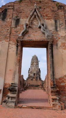 Les vestiges d'Ayutthaya