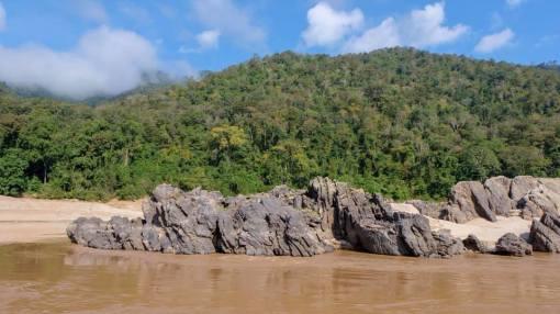 slow boat jusqu'à Luang Prabang