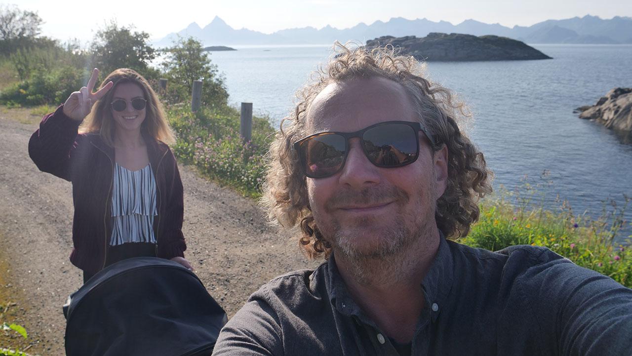 Skrova og Skrovafjellet