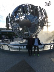 The classic Universal Studios photo