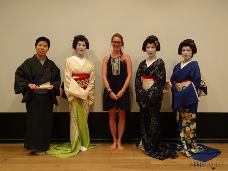 visiter tokyo en 7 jours geisha de Asakusa