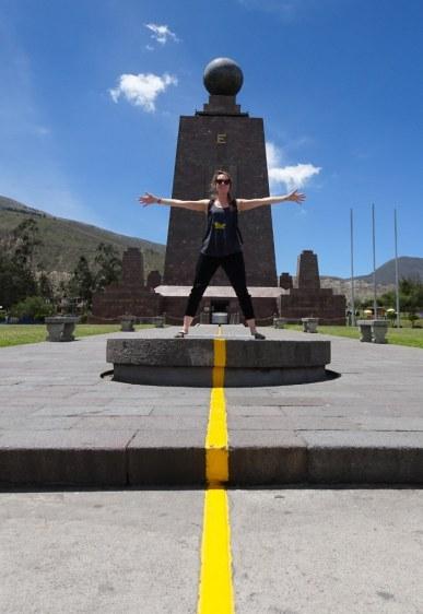 itinéraire en équateur mitad del mundo