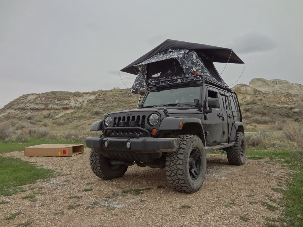 The Tepui Kukenam Roof Top Tent Vagabond Expedition