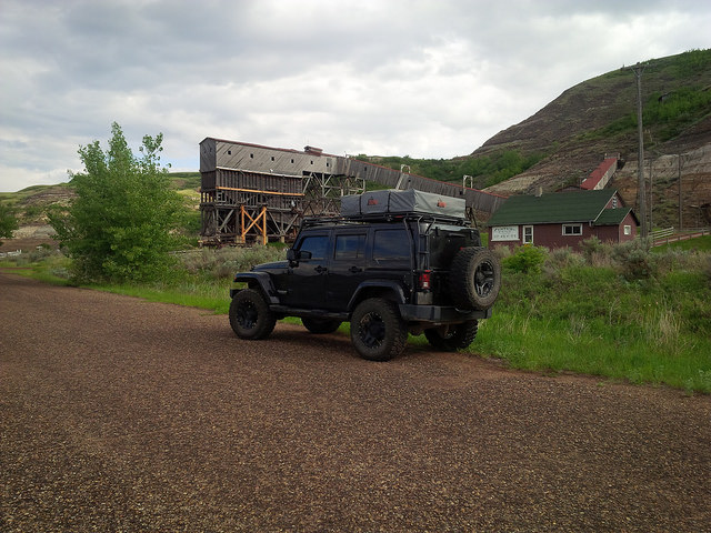 The Atlas Coal Mine (Drumheller Alberta)
