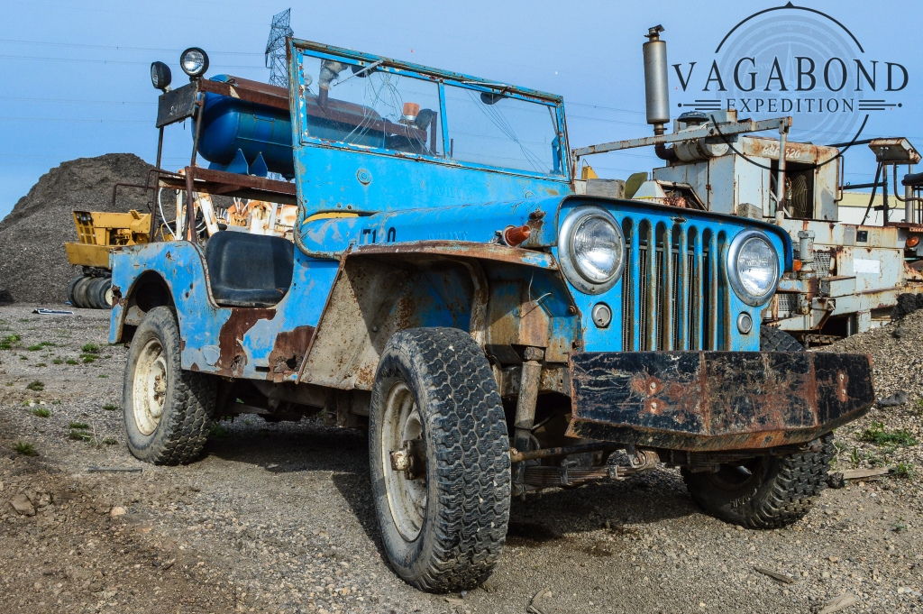 Abandoned Jeep Willys