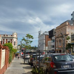 Grey street i St. Kilda, Melbourne