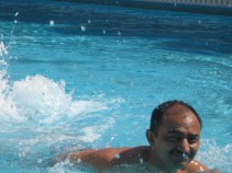 I love but swimming comes a bit tough to me