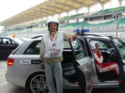Ready for some super speed stuff at Sepang in Malaysia during the A-1 GP race dubbed as world championship of motorsports.