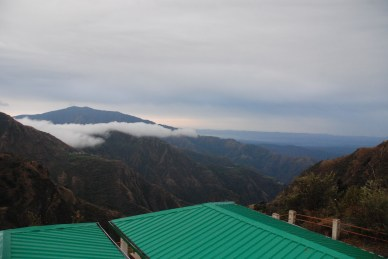 Beautiful view of doon valley from the lodge