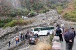 Just a few kilometres away from the dam, roads are still not worth weathering a tough weather and challenging hills