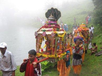 Procession of Gods