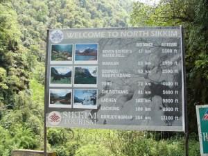 उत्तरी सिक्किम के कई नजारे