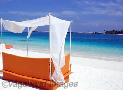 Beauty of Rangali island in Maldives