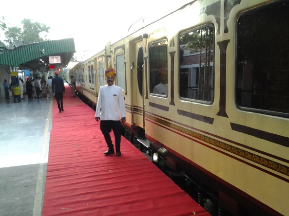 Luxury train Palace on Wheels ready to move from Delhi