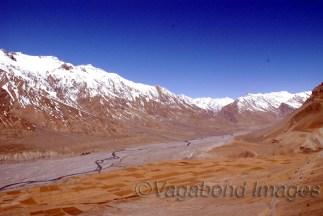 Spiti Valley in Himachal Pradesh, India
