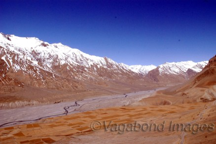 Spiti Valley in Himachal Pradesh, India
