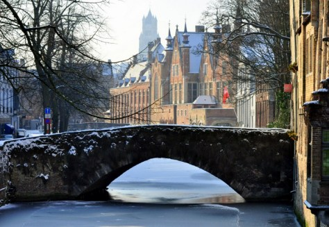 Bruges in Winter
