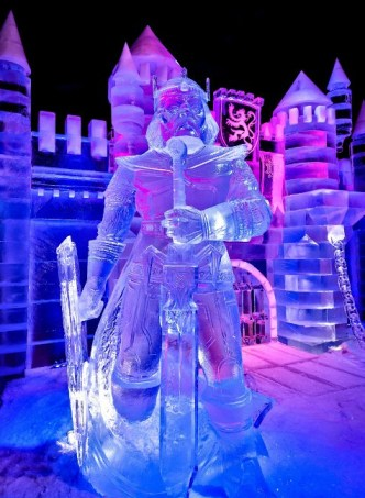 Snow & Ice sculpture festival