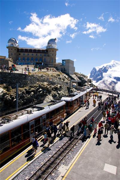 Kulmhotel at 3100 metres