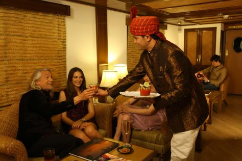 Some lighter moments: life on board on Maharaja Express