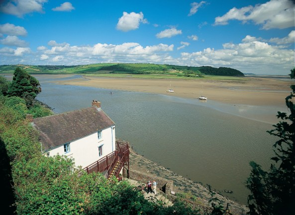 Dylan Thomas Boathouse at Laugharne