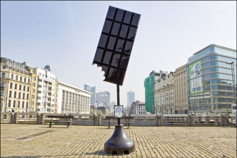 A chocolate sculpture. Brusselicious BXXL (c) VISITBRUSSELS/ E.Danhier