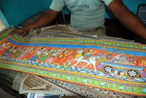 Vishnu in form of Lord Jagannath has been the mainstay of most of the art forms practised here