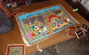Each family is engaged in nurturing the art legacy of their ancestors. No doubt, the Pattachitra stands out conspicuously as an accomplishment in exquisite workmanship