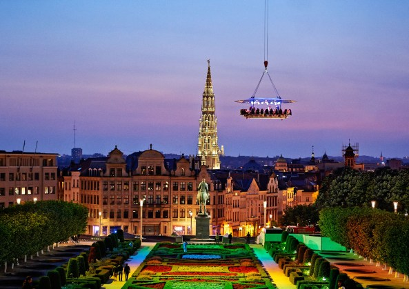 Brussels in the Sky