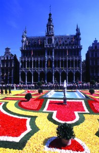 Floral Carpet at Grand Place