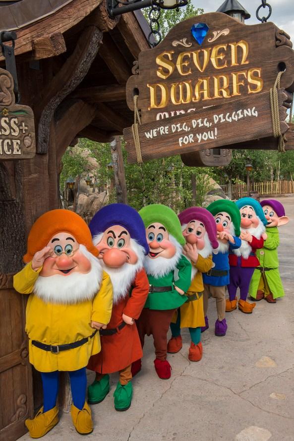Seven Dwarfs Mine Train at Walt Disney World Resort, Florida