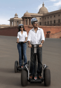 Segaway tours are new to India