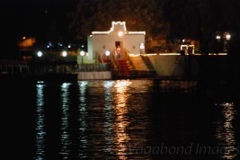 Pichola Lake towards the Shiv Niwas Palace hotel side.