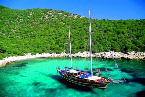 Turkey gulet cruise yacht